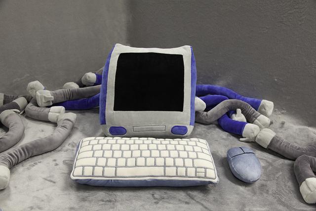 Faith Holland, ''Soft Computing' Plushie Set', 2020, Sculpture, Plushie, Stuffing, TRANSFER