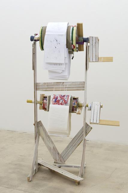 , 'Bildertrommel,' 2017, Galerie Krinzinger
