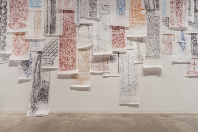 , 'The Flesh Is Yours, The Bones Are Ours: Frottage Rubbings,' 2016, Rhona Hoffman Gallery
