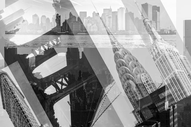 Frederick Hodder, 'Manhattan Collage', 2013, Mana Contemporary