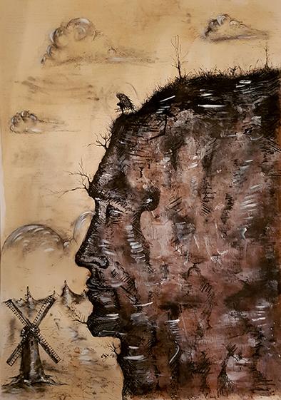 Marian Simon, 'Don Quixote', 2017, Renaissance Art Gallery