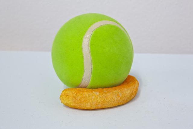 , 'Tennis Ball with Cheesie Wedge,' , MKG127