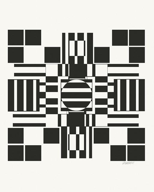 , 'Serie Evocacion Constructiva #2,' 1968, Leon Tovar Gallery