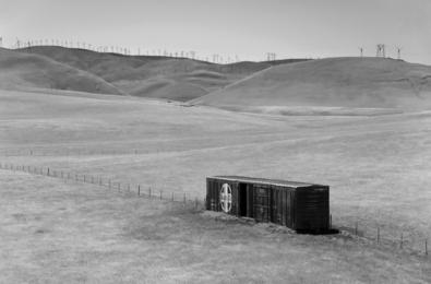 ATSF Boxcar, Altamont Pass, California
