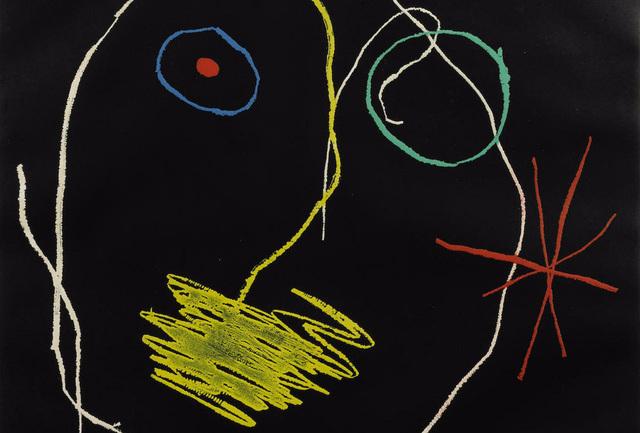 Joan Miró, 'Le prophète de la nuit', 1965, Invertirenarte.es