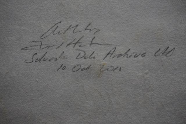Salvador Dalí, 'Poems Secrets Frontispiece', 1967, Print, Etching, Fine Art Acquisitions Dali