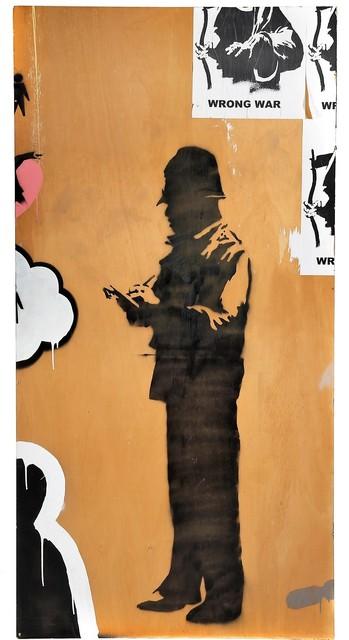 Banksy, 'Black Bobby', 2003, Julien's Auctions