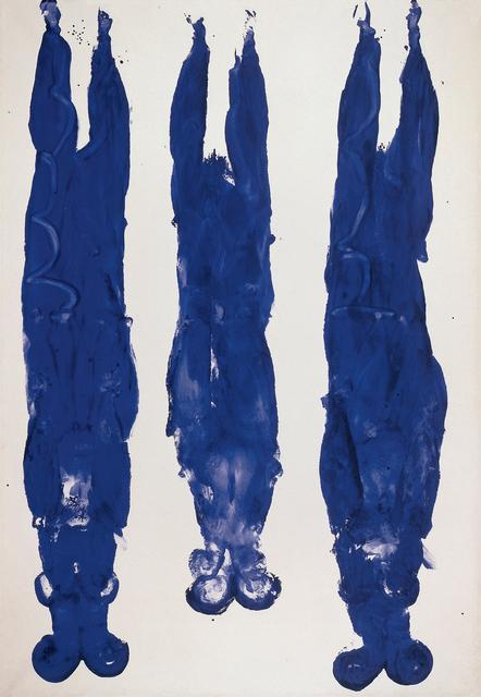 , 'Anthropométrie sans titre (ANT 89),' 1961, Gagosian
