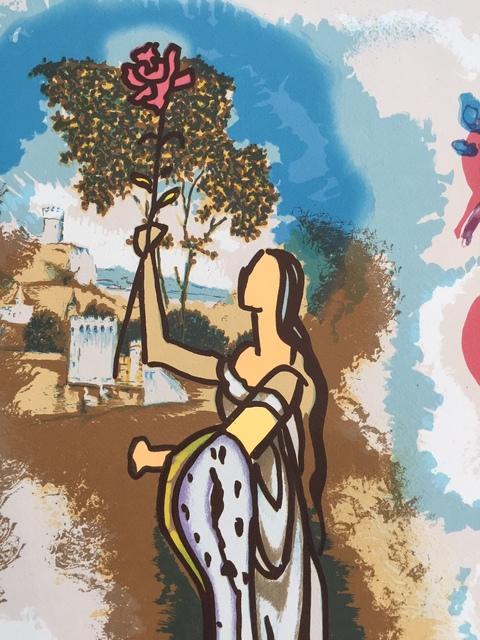 Salvador Dalí, 'Ivanhoe - Rowena ', 1978, Print, Lithograph, Gregg Shienbaum Fine Art