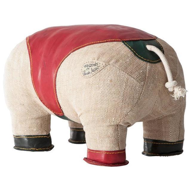 ", 'Double Tail ""Therapeutic Toy"" Hippopotamus,' 2013, LMAKgallery"