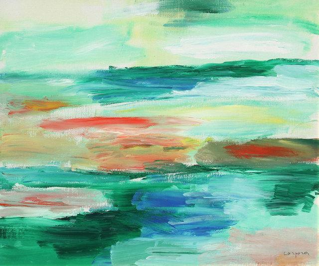 Antonio Corpora, 'Laguna nell'oasi', 2001, Ambrosiana Casa d'Aste