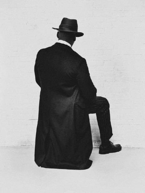, 'Man on chair,' 2017, Atlas Gallery