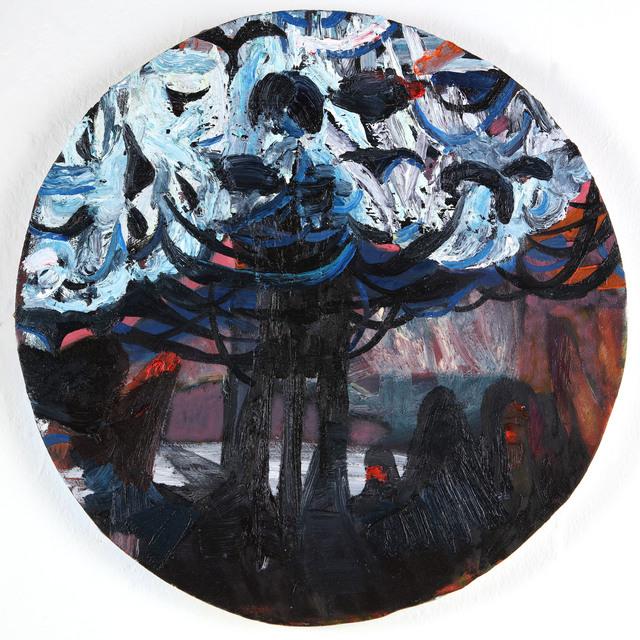 """, '""""Blue Glimslip"""",' 2017, Aleph Contemporary"""
