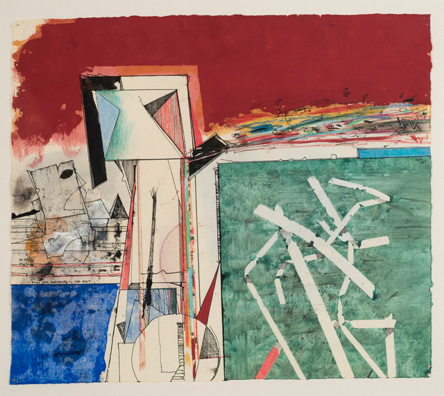 , 'Study for Homage to the Poet,' 1967, Allan Stone Projects