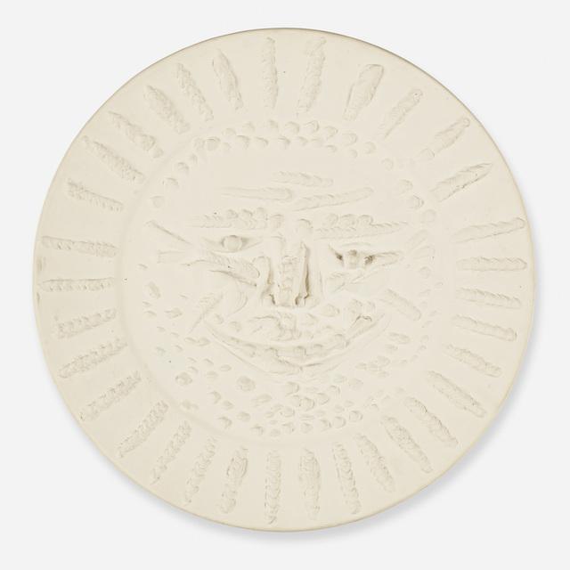 Pablo Picasso, 'Tormented Face', 1956, Design/Decorative Art, White earthenware clay, Rago/Wright
