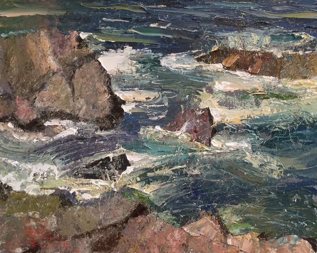 C.W. Mundy, 'Pt. Lobos', 2019, The Galleries at Salmagundi