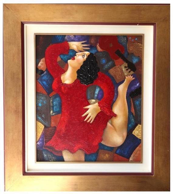 """CHINIKOV, 'Oil on Canvas """"Dancer"""" by Chinikov', 2000s, Galerie Philia"""