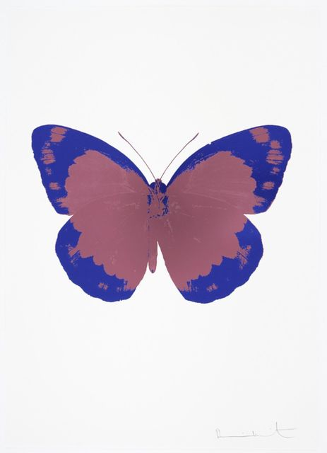 , 'The Souls II - Loganberry Pink - Westminster Blue,' 2010, Samuel Owen Gallery