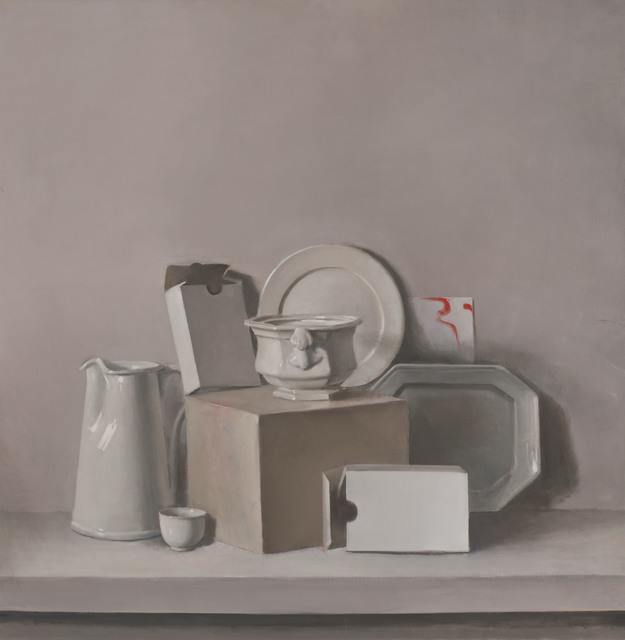 , 'Untitled (White Pitcher with Boxes),' ca. 2002, Jason McCoy Gallery