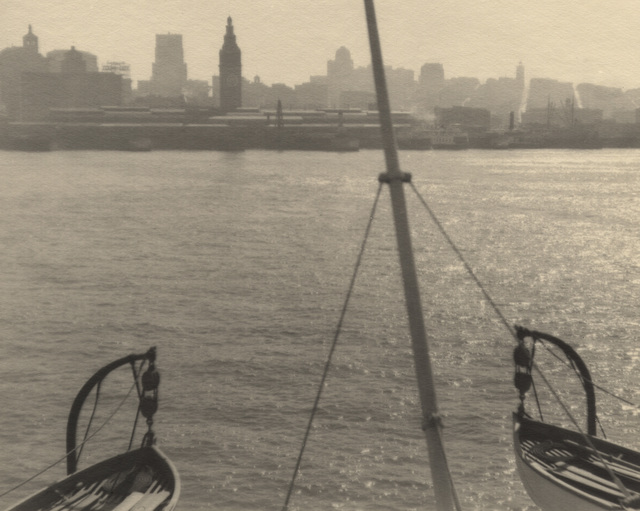 , 'Lifeboats, San Francisco Skyline,' ca. 1925, Lee Gallery