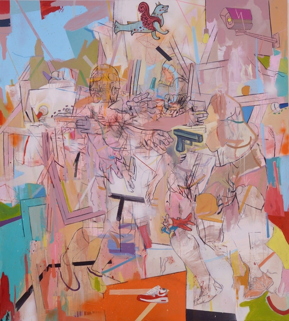 Thameur Mejri, 'Untitled (Eroded)', 2018, Gallery 1957