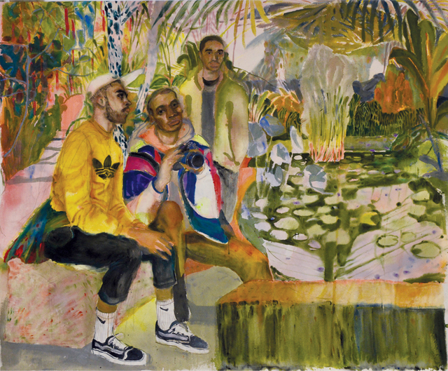, 'Guys Hanging Out At The Lilly Ponds,' 2018, Anima Mundi