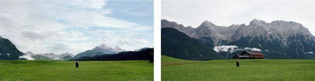 Barbara Probst, 'Exposure #92: Mittenwald, Buckelwiesenweg, 07.08.11, 7:28 p.m.', 2011, Bohman-Knäpper