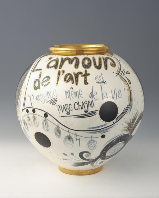 , 'Remixed pot Thank you Chagall!,' 2010, Atelier Aki