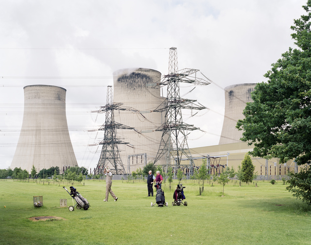 , 'Ratcliffe-on-Soar Power Station, Nottinghamshire,' 2008, Flowers