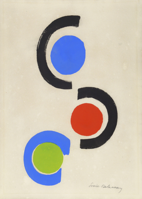 , 'Rhythmes - Couleurs. Cercles et Demi-Cercles,' 1966, William Weston Gallery Ltd.