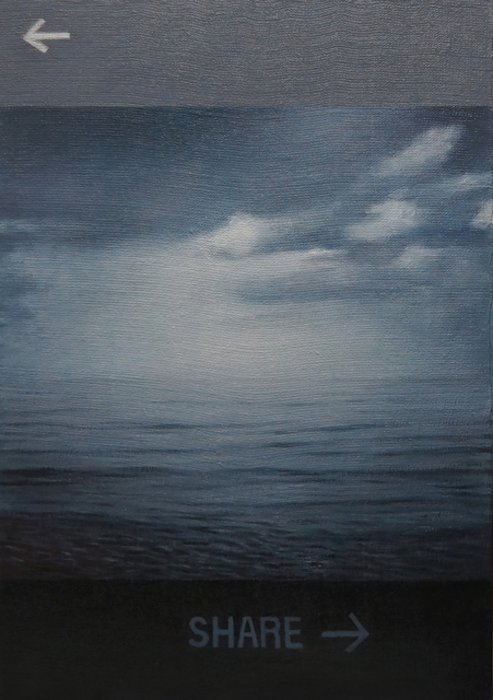 , 'Shared Long Island Sound,' 2014, Nohra Haime Gallery