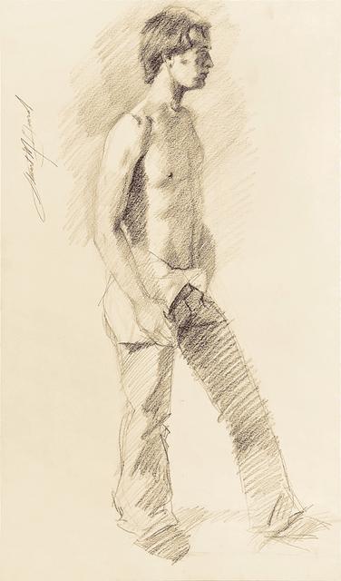 Mark Beard, 'Untitled (Man Undressing)', ca. 1974, ClampArt