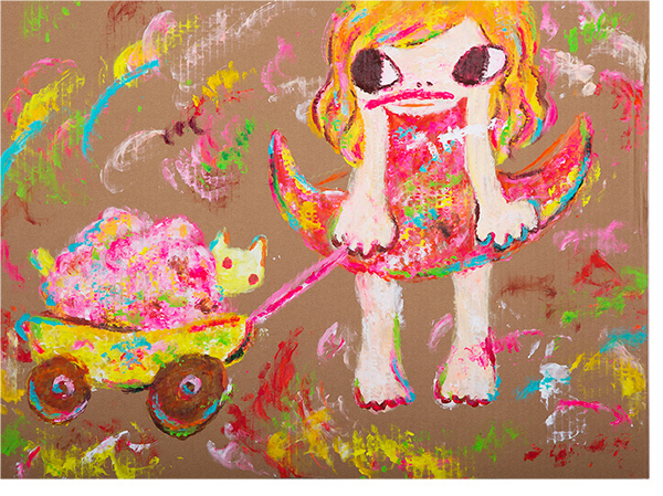 Ayako Rokkaku, 'Untitled', 2018, Gallery Delaive
