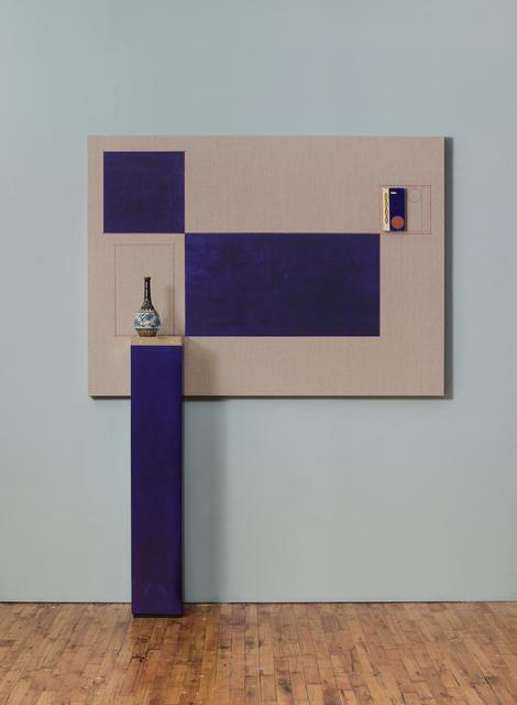 , 'Blue Backdrop for Minor Arts,' 2018, The FLAG Art Foundation