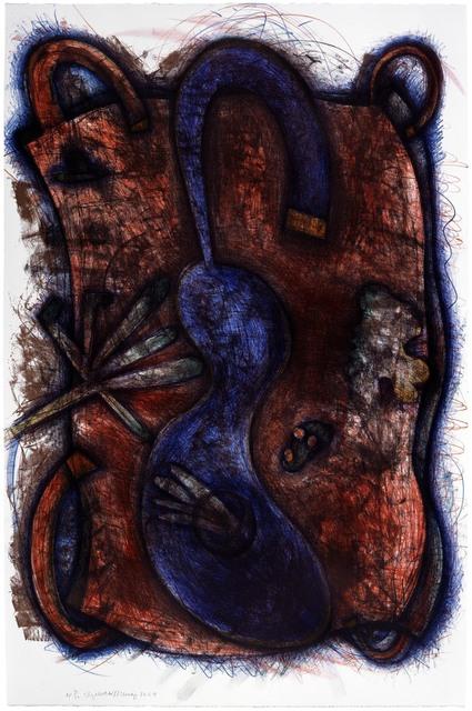 Elizabeth Murray, 'Blue Body', 1987, Universal Limited Art Editions