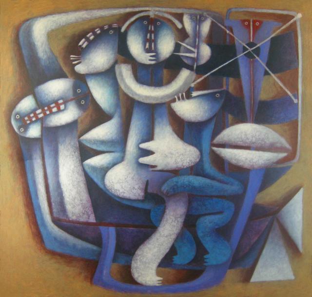 , 'The Silent Dancer,' 2016, Rimonim Art Gallery