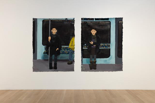Manuel Solano, ' In the Metro or She's Not Pretty', 2018, ICA Miami
