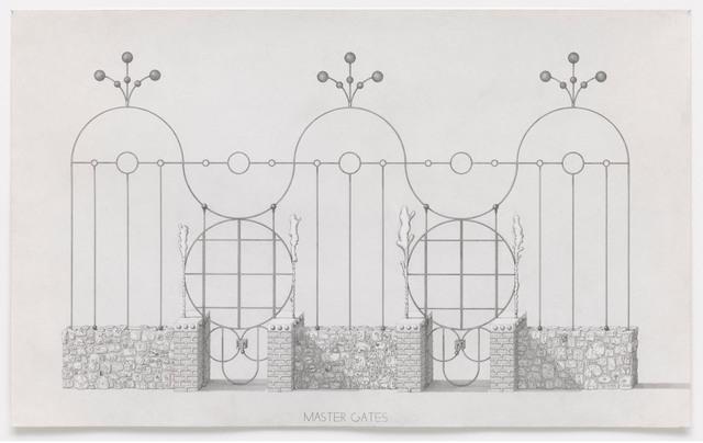 , 'Master Gates,' 2013, Gagosian