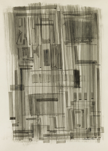 Norman W. Lewis, 'Untitled (Urban Abstraction).', circa 1949, Swann Auction Galleries
