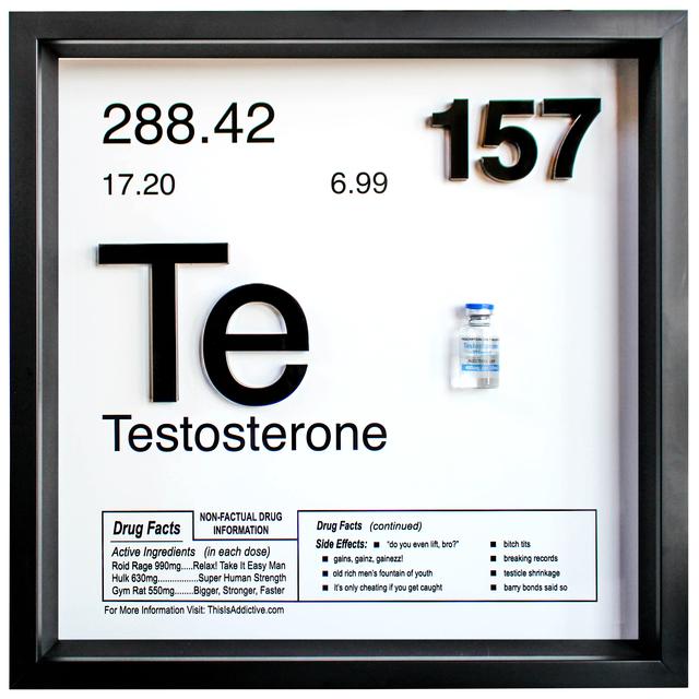 , 'TESTOSTERONE,' 2018, Marcel Katz Art