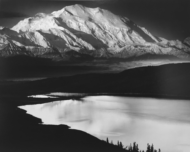 , 'Mount McKinley and Wonder Lake, Mount McKinley National Park, Alaska, 1947,' 1947, G. Gibson Gallery