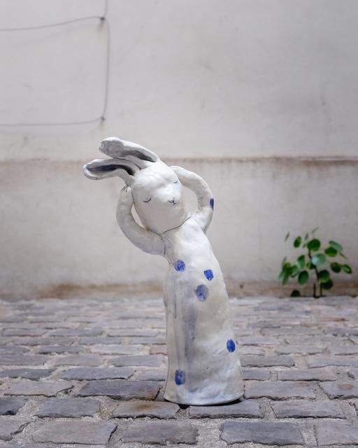 , 'Polka dot rabbit,' 2018, Antonine Catzéflis