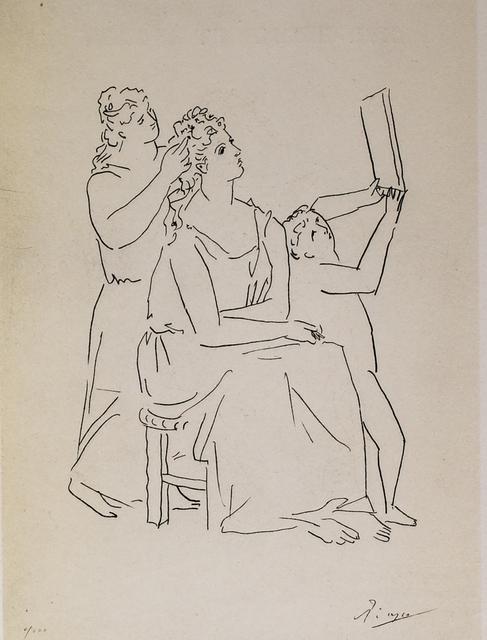 Pablo Picasso, 'La Toilette (The Toilet), 1949 Limited edition Lithograph by Pablo Picasso', 1949, Reproduction, Lithograph, White Cross