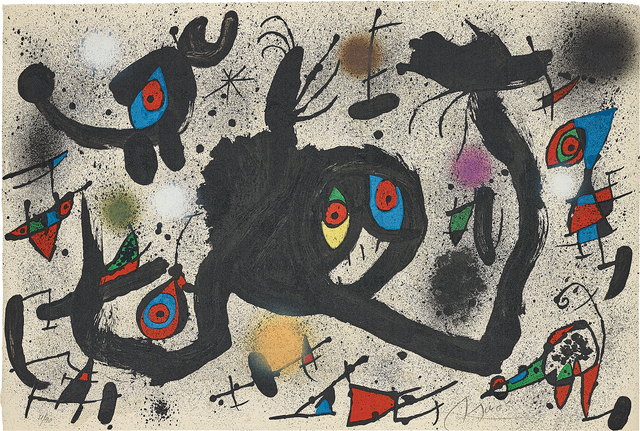 Joan Miró, 'El vol de l'alosa (The Flight of the Lark)', 1973, Phillips