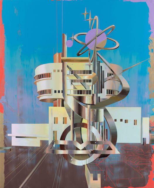 , 'The Peak Tower 2,' 2019, Pilar Corrias Gallery