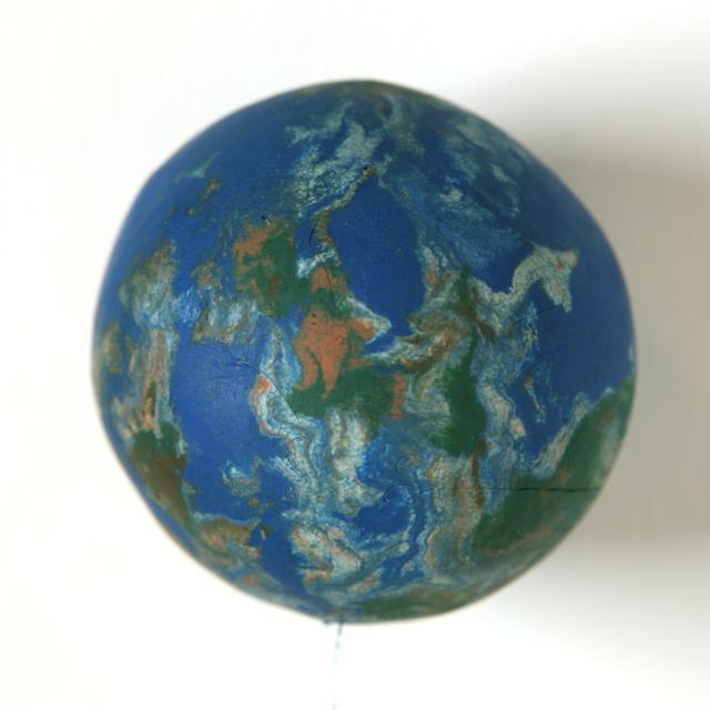 , 'Small World (1:255,000,000),' 2011, Galerie Krinzinger