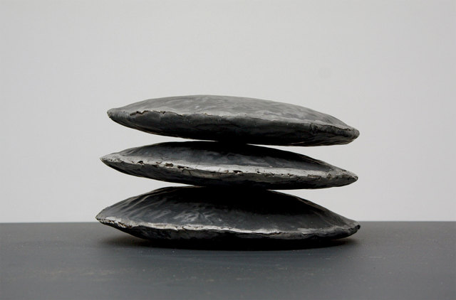 , 'Triple Disc Lid,' 1988, Betty Cuningham