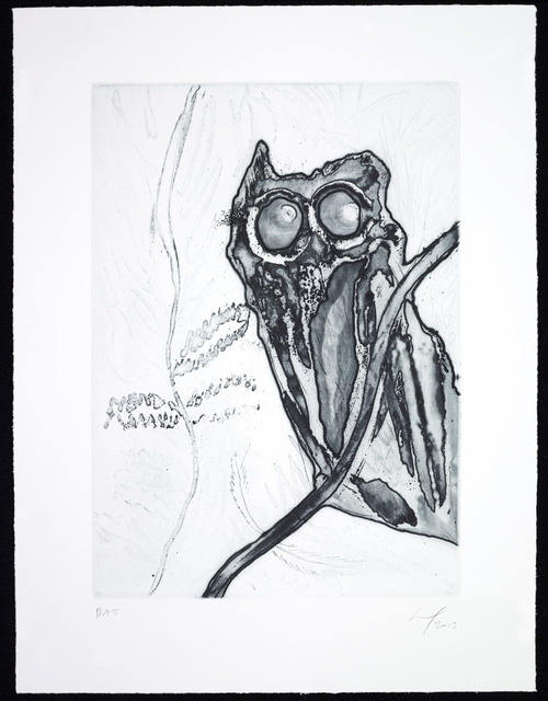 , 'Owl in a Neem Tree, Boscoe's House,' 2013, Two Palms