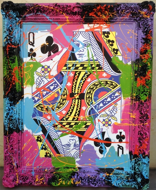Elena Bulatova, 'Queen of Clubs', 2019, Elena Bulatova Fine Art
