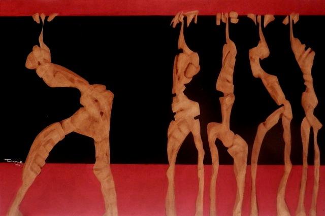 , 'Figuras de una exposición I,' 2015, Galerie AM PARK
